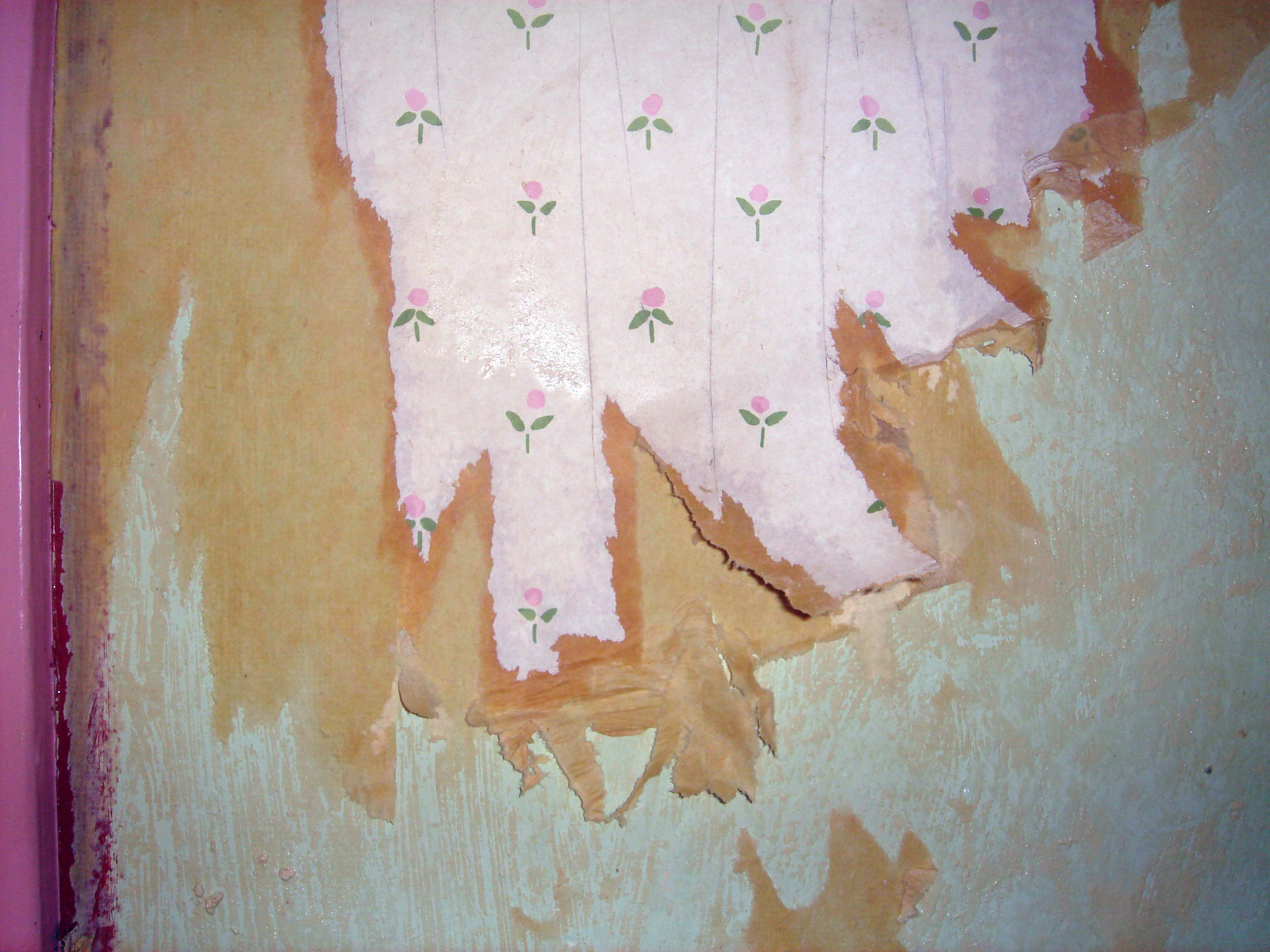 Renovation   Wallpaper Stripping The Artsy Crafter 2048x1536