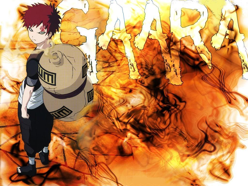 Naruto And Bleach Anime Wallpapers Managa Style Gaara 1024x768