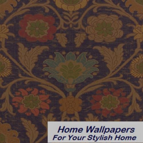 Thibaut Wallpaper   Anniversary   Buccini T6054 Navy 500x500