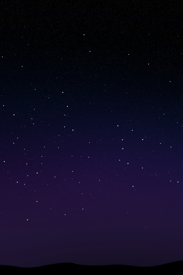 Starry Night Sky Wallpaper image gallery 640x960