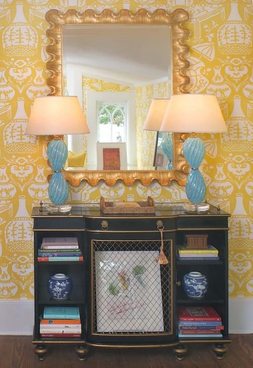 The Vase Wallpaper Eclectic denlibraryoffice Jennifer Dengel 510x740