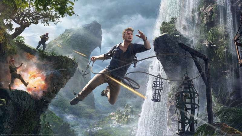 Uncharted 4 A Thiefs End wallpapers or desktop backgrounds 800x450