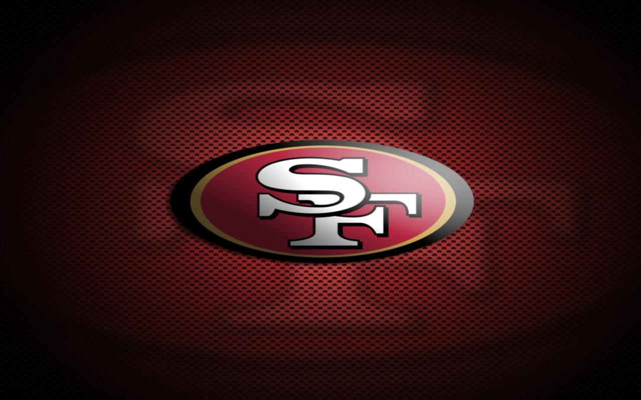 48 San Francisco 49ers Wallpaper Logo On Wallpapersafari
