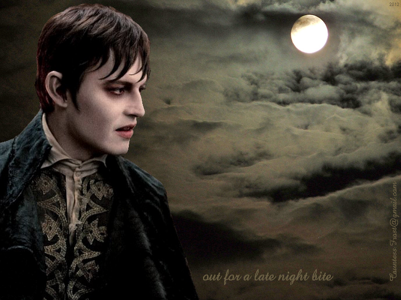 Tim Burtons Dark Shadows images out for a late night bite wallpaper 800x600