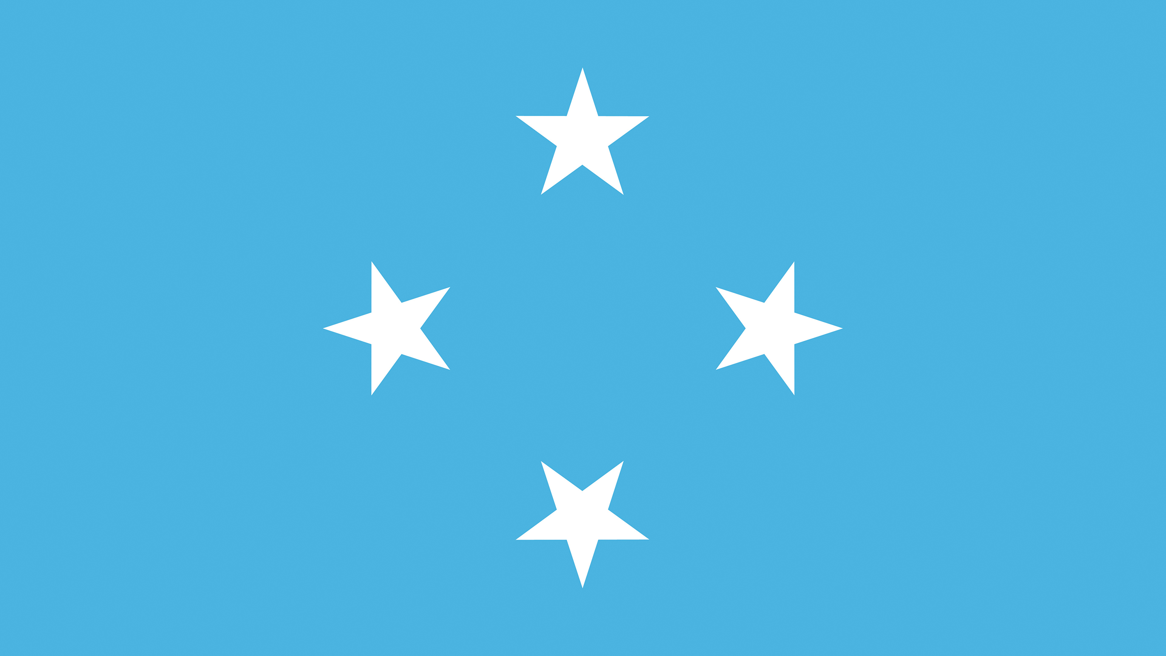 Photos Federated States of Micronesia Flag 3840x2160 3840x2160