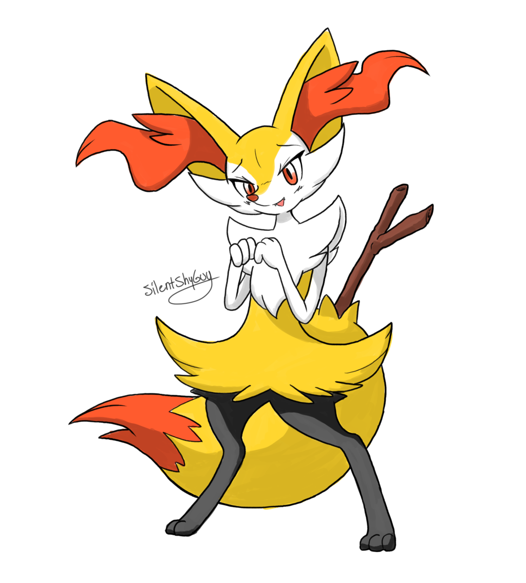 Braixen by SilentShyGuy 1024x1136