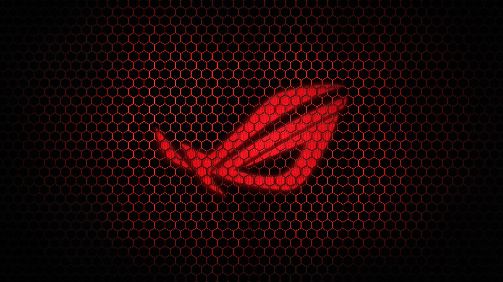 Asus Logo Republic of Gamers i06 HD Wallpaper 1600x900