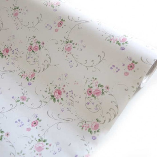 45cm Flower Wallpaper   Self Adhesive Peel Stick Wall Paper Easy to 550x550