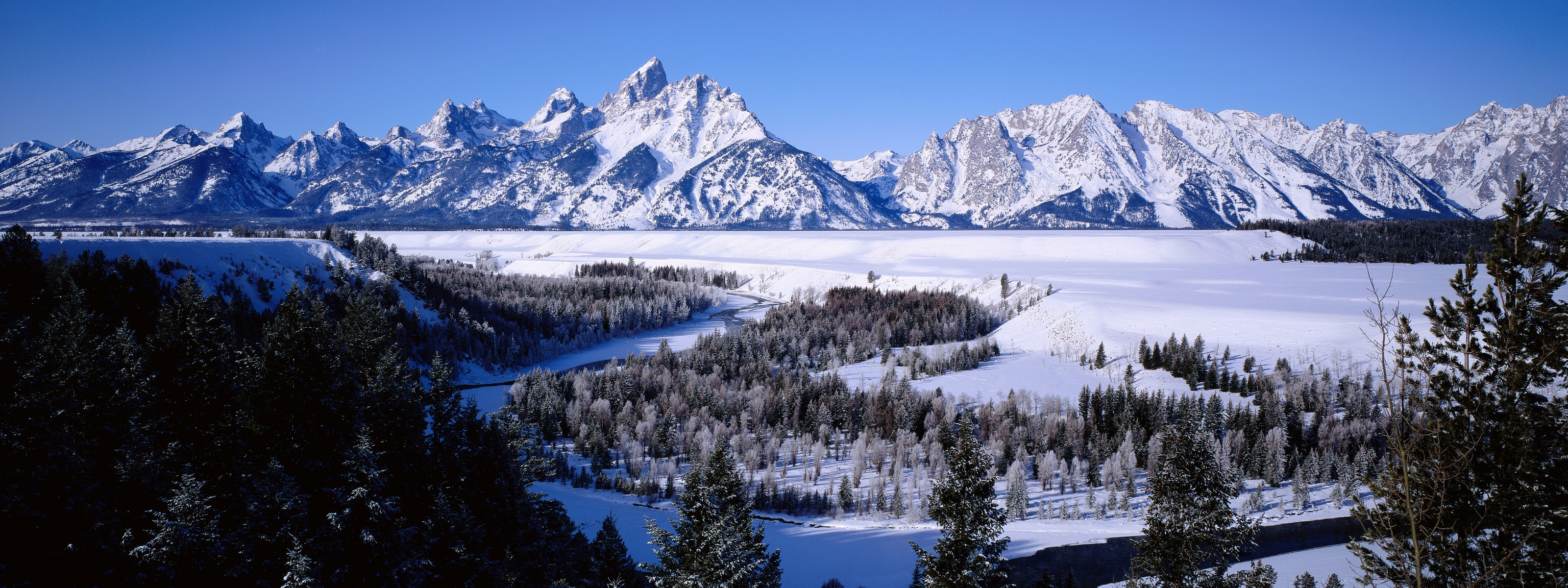 teton mountains snow wallpapers
