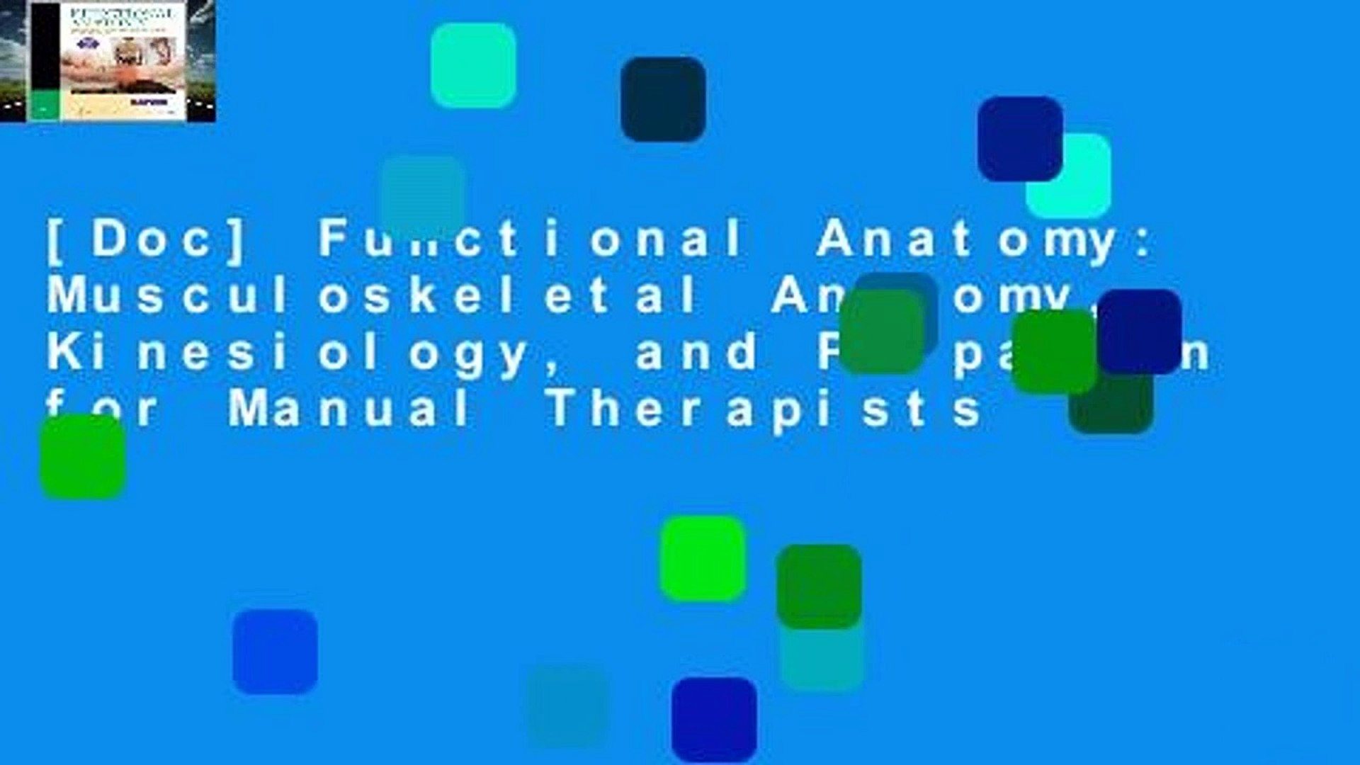 Doc] Functional Anatomy Musculoskeletal Anatomy Kinesiology and 1920x1080