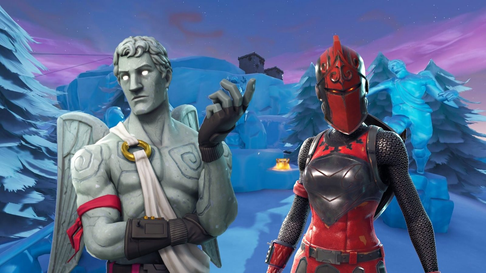 Frozen Legends Fortnite starter pack leaked featuring winter 1600x900