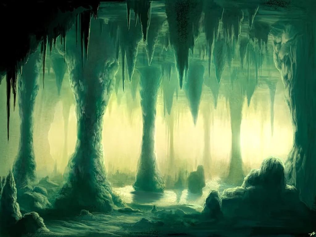 Cave Wallpaper Download The Green Cave Wallpaper Wallpaper 1024x768