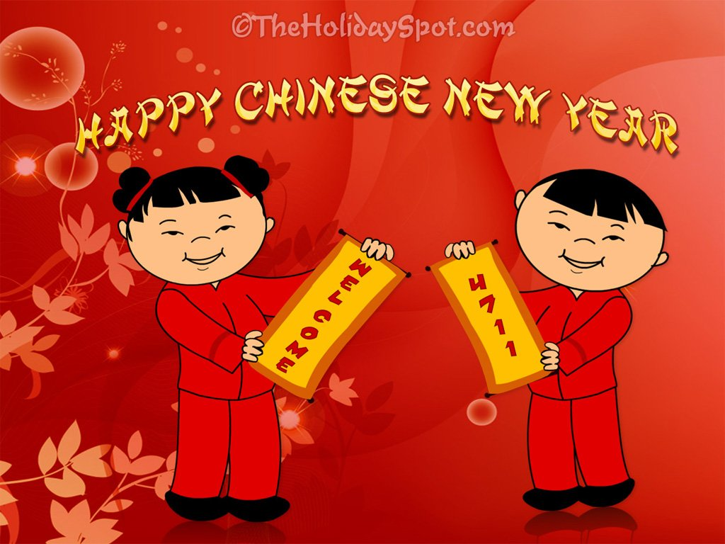Chinese New Year wallpaper 1024x768