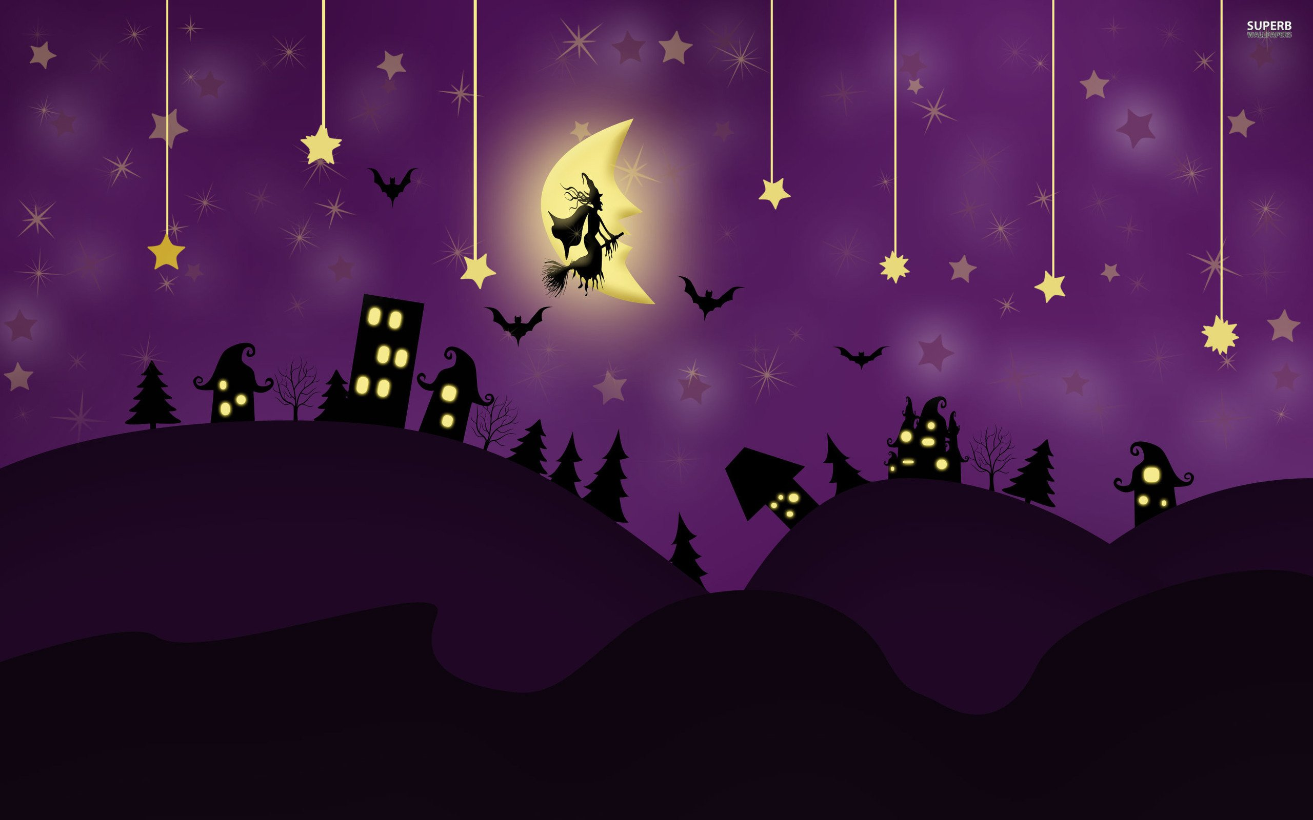 Free Download Halloween Ru Wallpapers Hd Desktop And Mobile Backgrounds 2560x1600 For Your Desktop Mobile Tablet Explore 48 Purple Halloween Wallpapers Purple Halloween Wallpapers Halloween Wallpapers Background Halloween