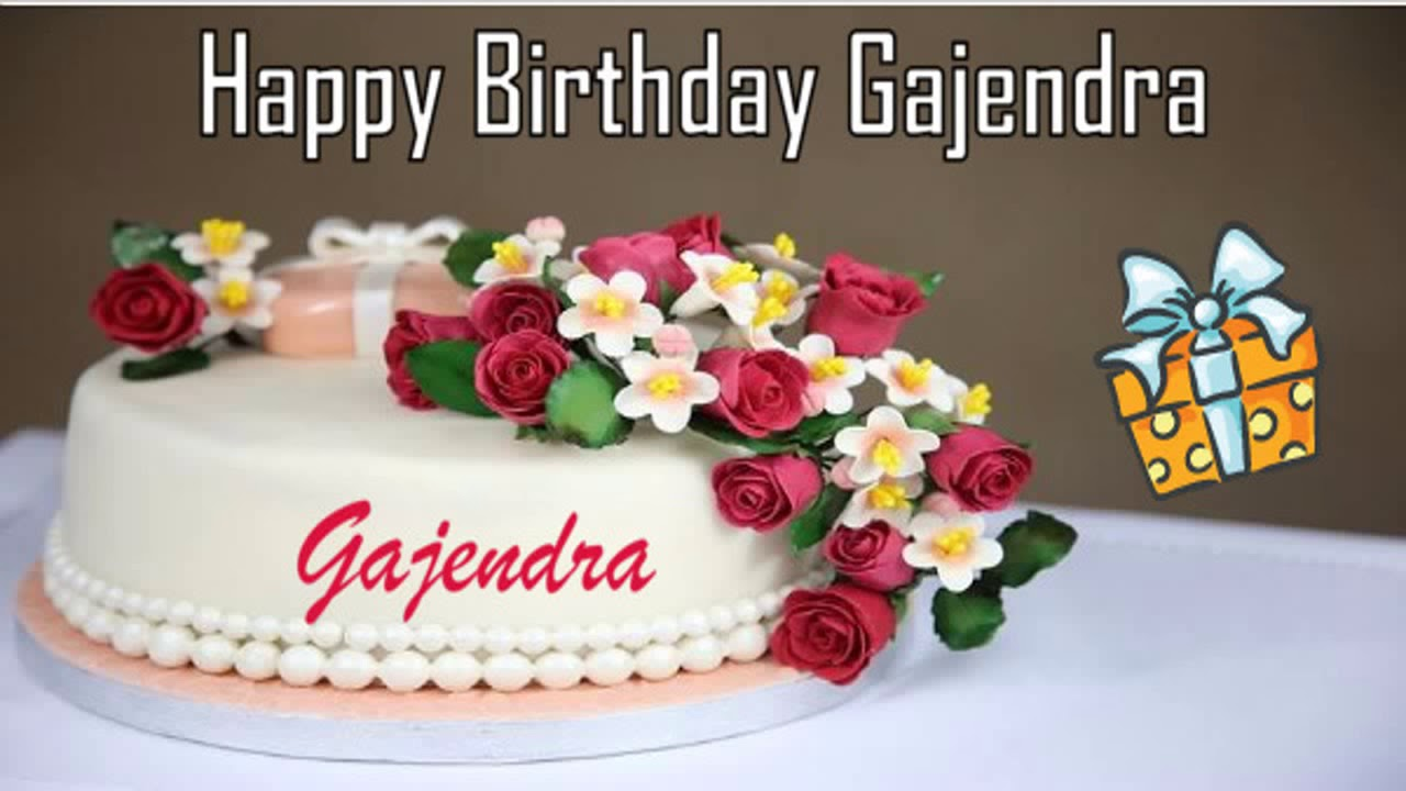 Happy Birthday Gajendra Image Wishes 1280x720