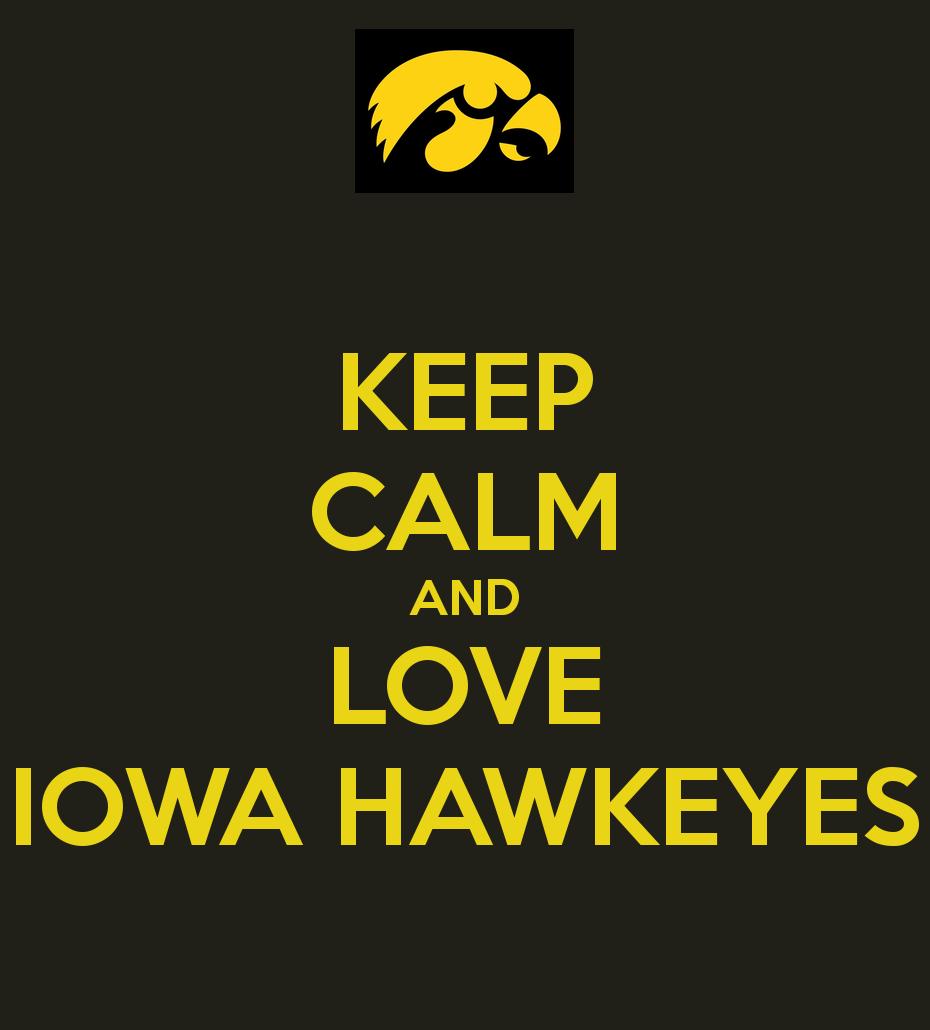 Iowa Hawkeyes Wallpaper And love