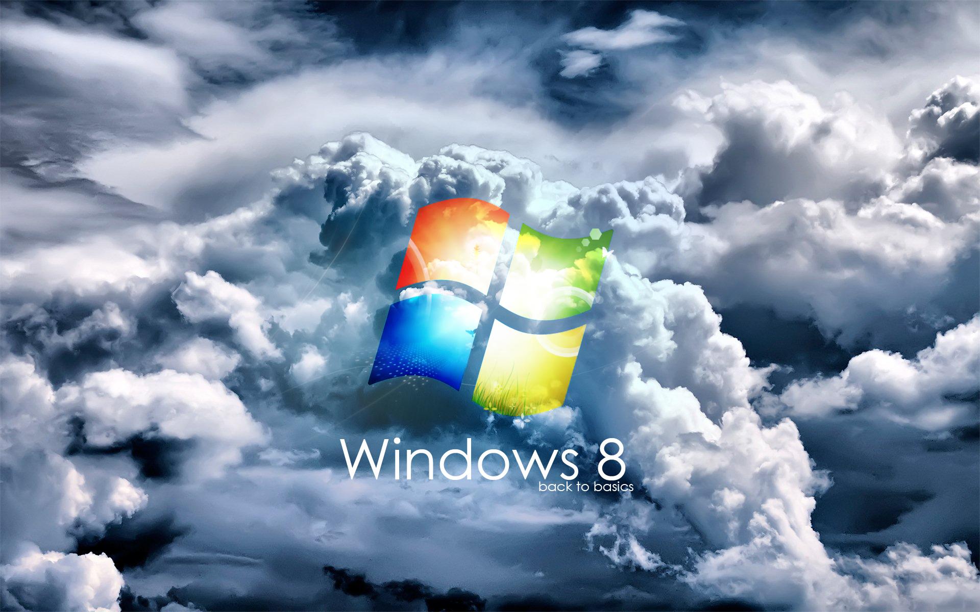 1920x1200 Windows 8 clouds desktop PC and Mac wallpaper 1920x1200