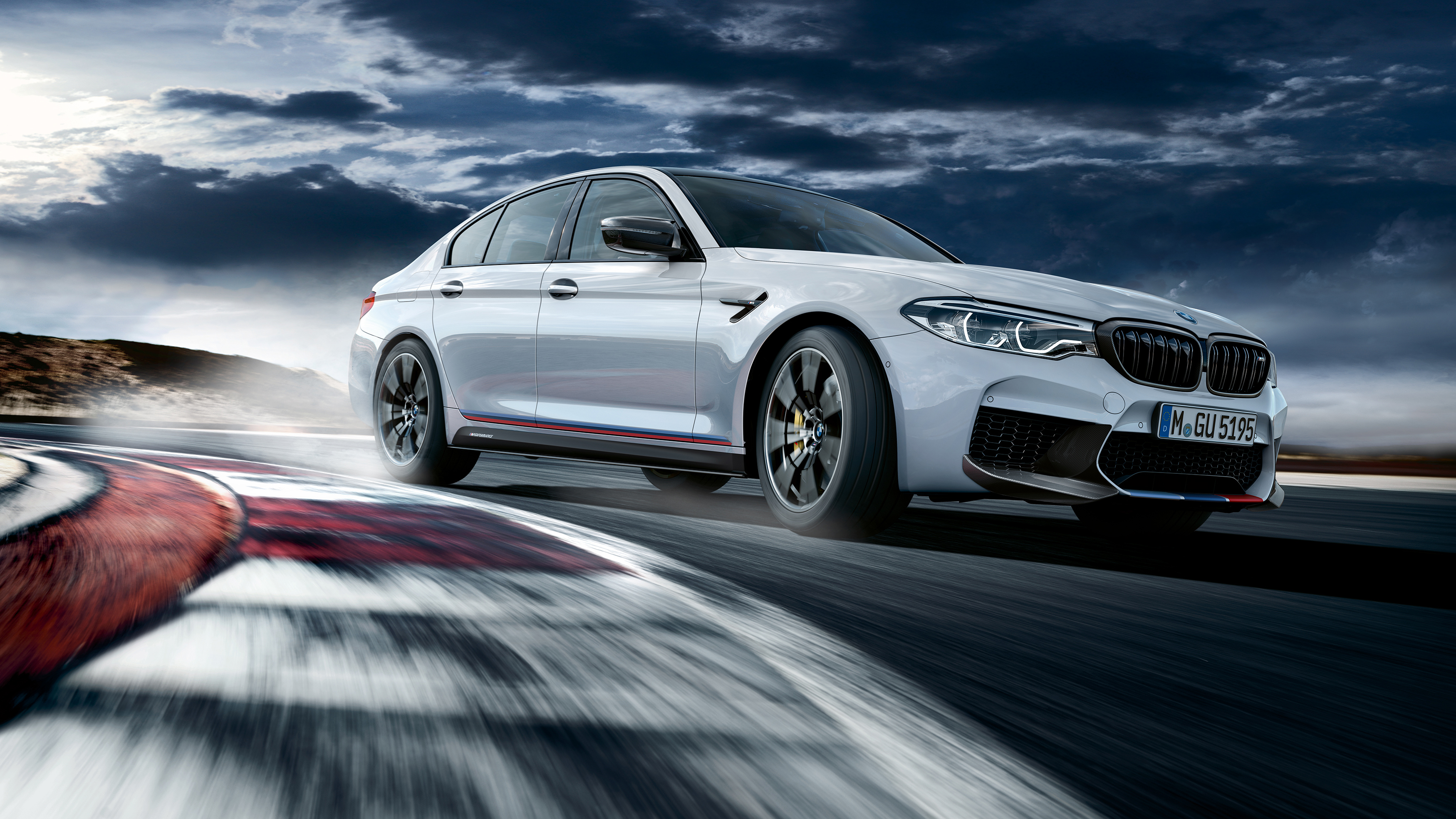2018 BMW M5 M Performance Parts Wallpaper HD Car Wallpapers ID 3500x1969