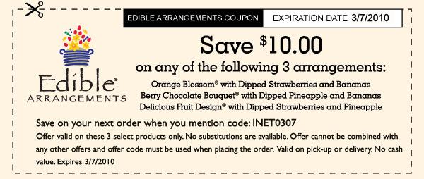 arrangements coupon code 600 x 364 53 kb jpeg edible HD Wallpaper 600x254