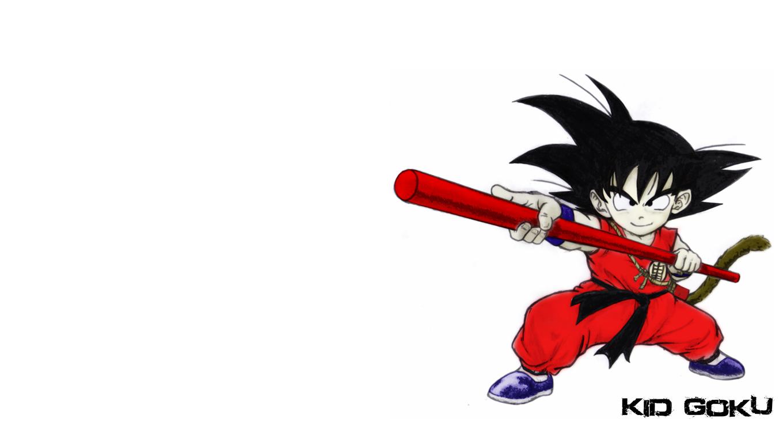 Kid Goku desktop wallpaper by iiHurricane 1360x768