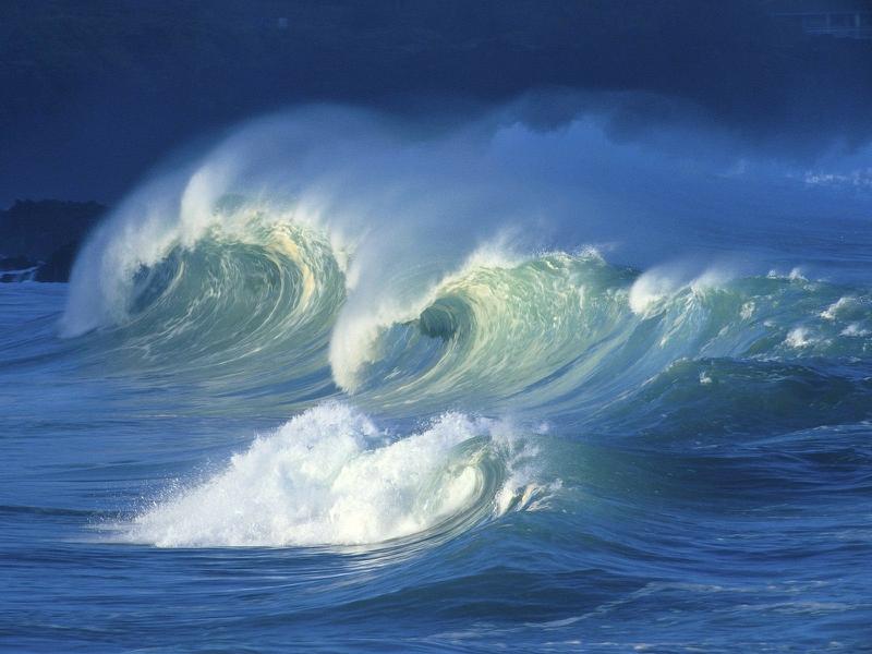 ocean waves 1600x1200 wallpaper Nature Oceans HD Desktop Wallpaper 800x600