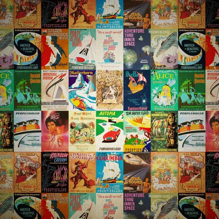 Pinterest Vintage Disneyland Disneyland and Vintage Disney Posters 736x736