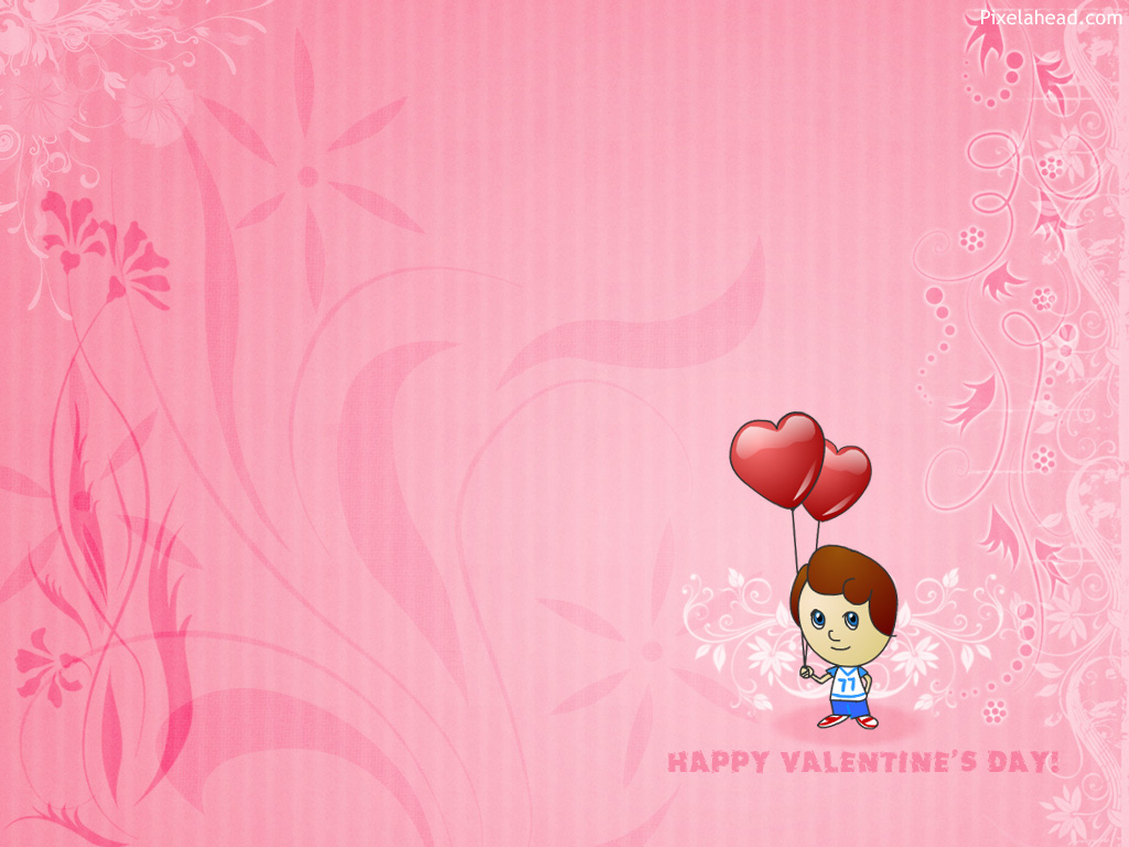 cute valentines day wallpaper 520x245 Valentine Wallpapers 1024x768