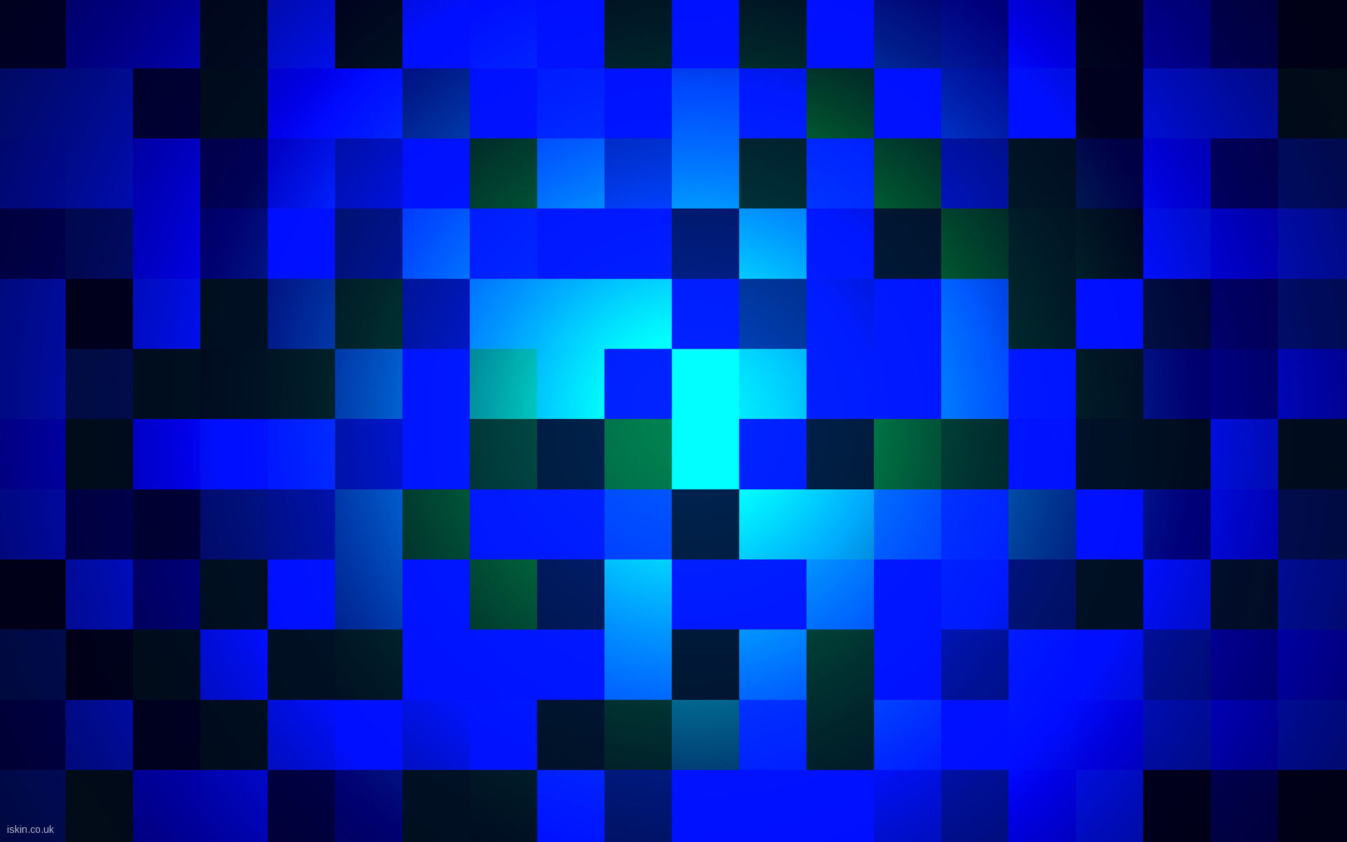 FunMozar Blue Geometric Wallpapers 1920x1200