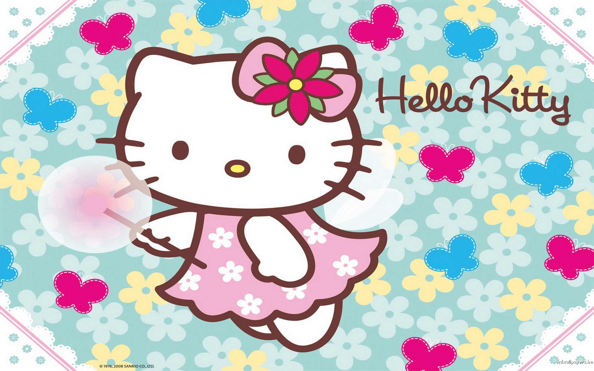 Hello Kitty HD Wallpaper Image for Mac   Cartoons Wallpapers 1920x1200