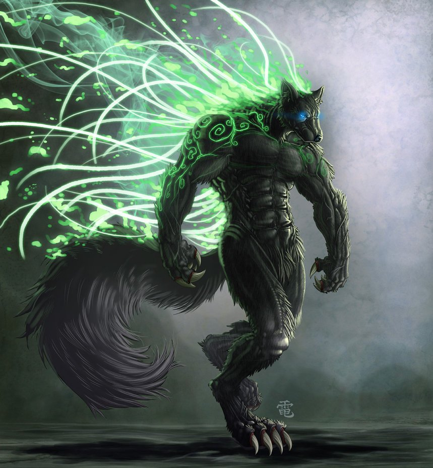 ancient werewolf wallpaper-#9