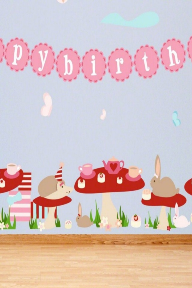 Birthday Party Background Wallpaper iPhone Wallpapers and Backgrounds 640x960