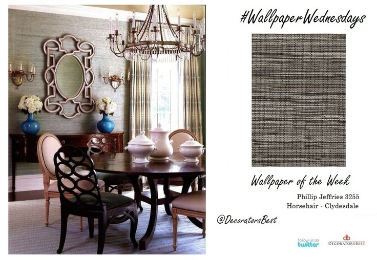 Happy WallpaperWednesday For the tailored look Phillip Jeffries 736x508