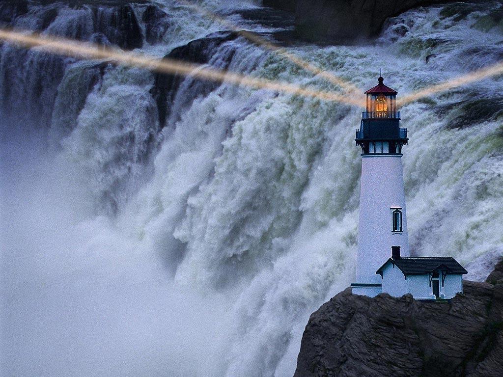 43 Fall Lighthouse Desktop Wallpaper On Wallpapersafari