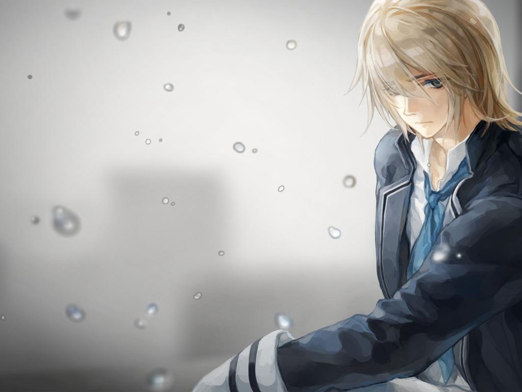 Sad anime boy wallpaper   ForWallpapercom 1024x768