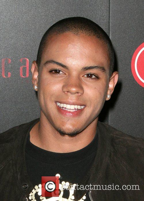Evan Ross LG Electronics LG Launch of the Scarlet HD TV 500x695