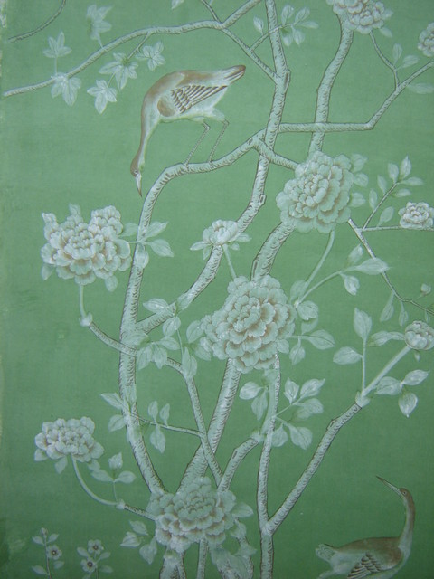 Wallpaper   by JAMEITE Hand painted Silk Wallpaper Co LTD 480x640