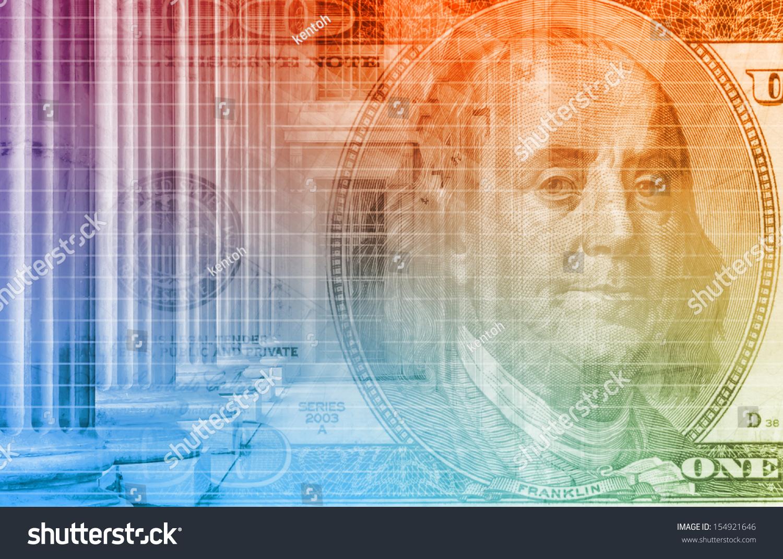 Finance Spreadsheet Tech Graph Art Background Stock Illustration 1500x1071