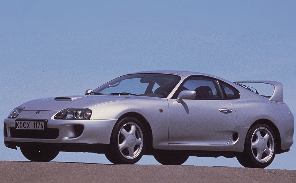 1995 Toyota Supra Front 3 4 Left Close Up   egmCarTech 950x587
