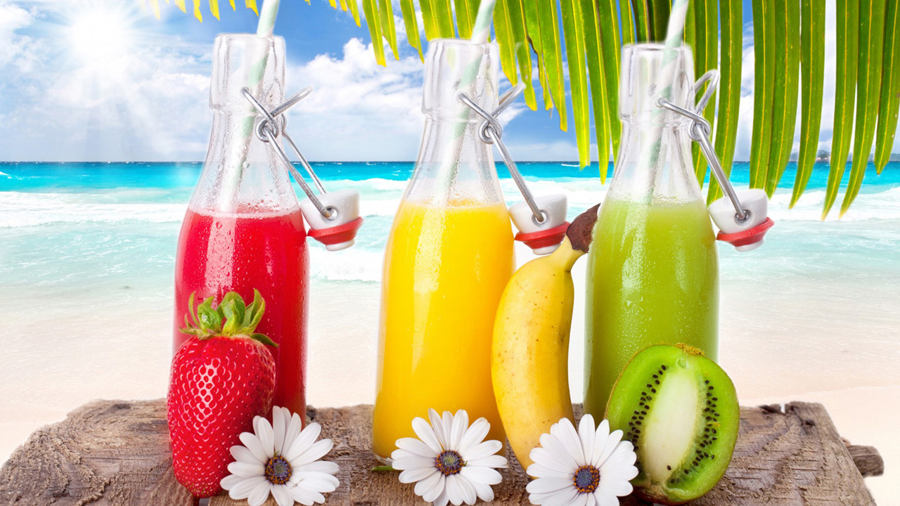 summer drinks wallpaper for desktop wallpapersafari