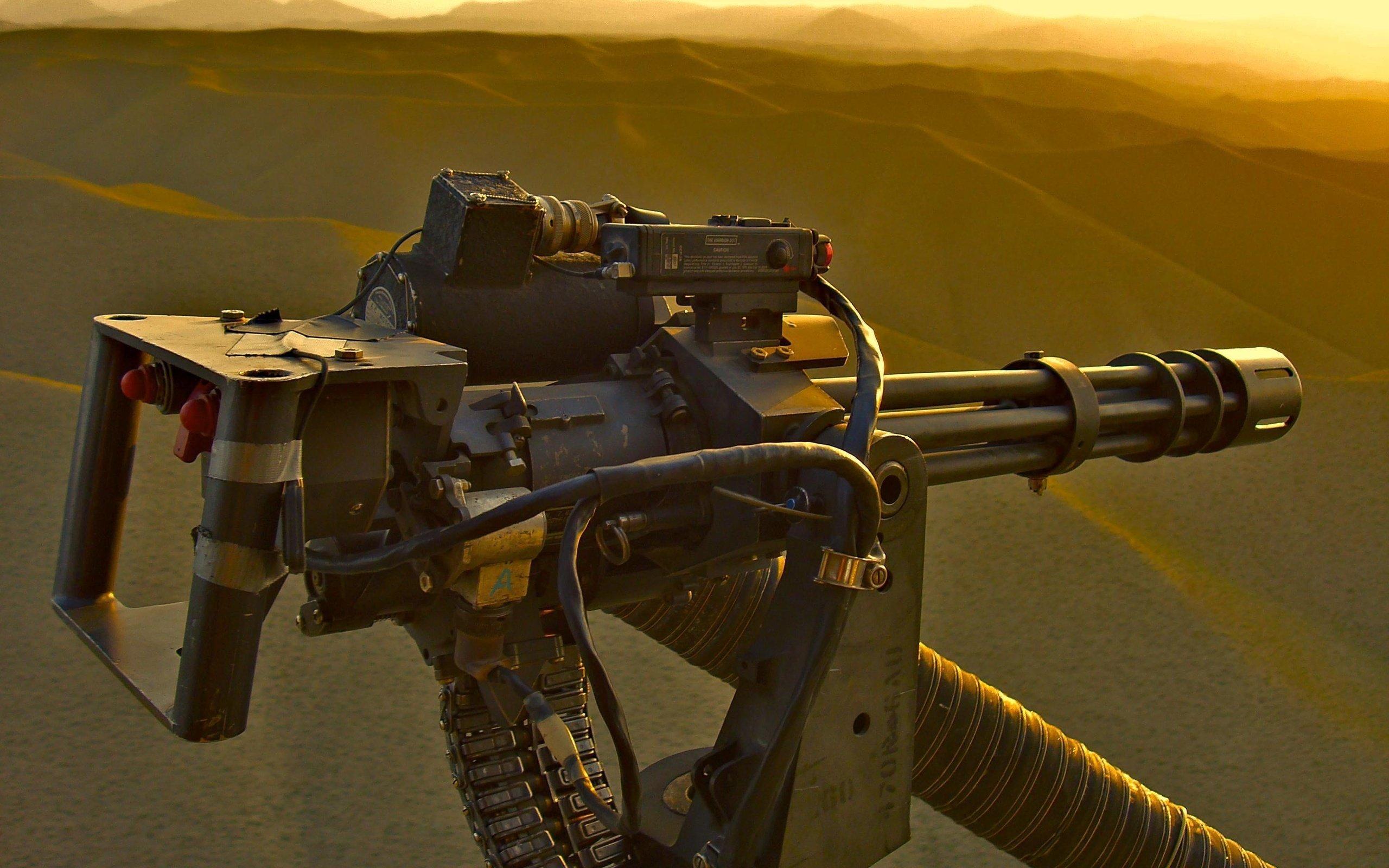 Machine Guns Wallpapers 2560x1600
