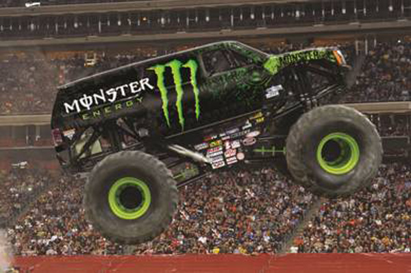 Monster Energy Latest Addition to Advance Auto Parts Monster Jam 600x398