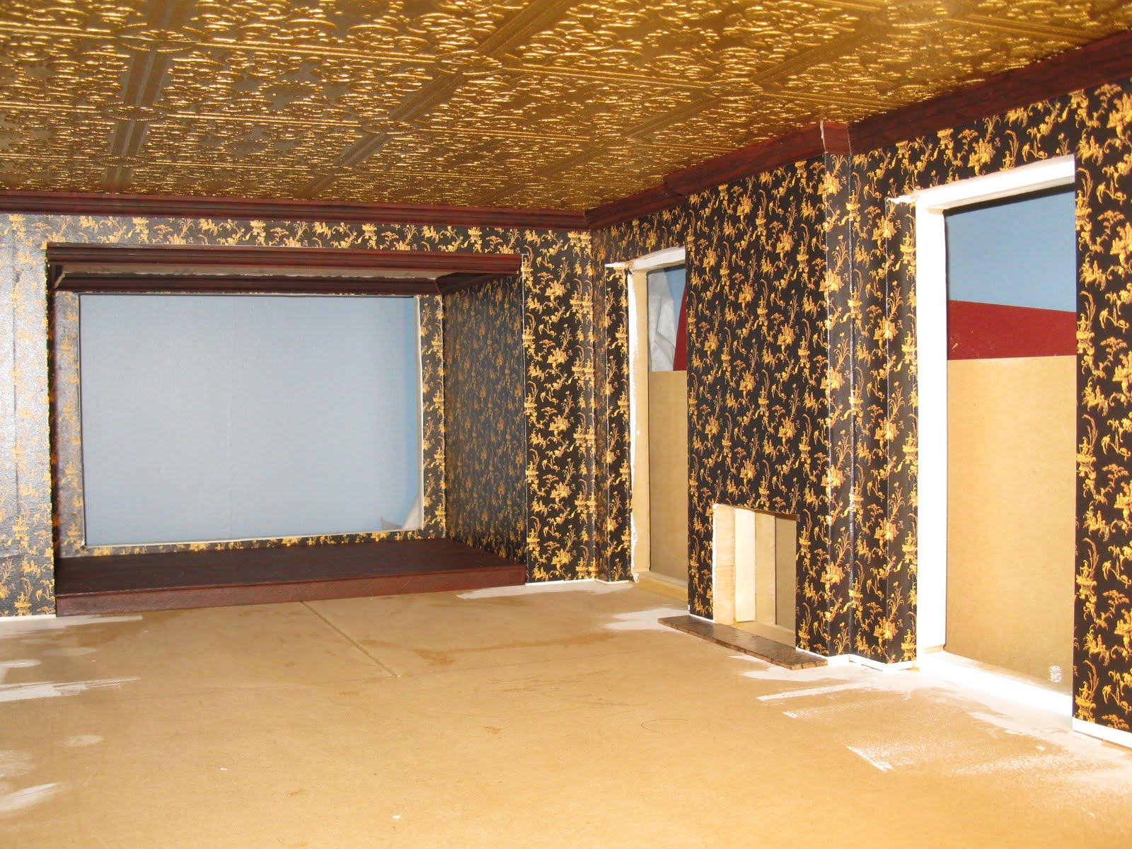 46 dollhouse ceiling wallpaper on wallpapersafari - Late victorian wallpaper ...