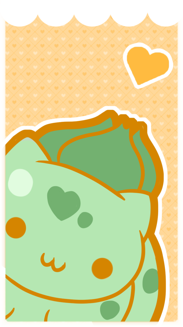 Bulbasaur Phone Wallpaper by SeviYummy on deviantART 600x1067