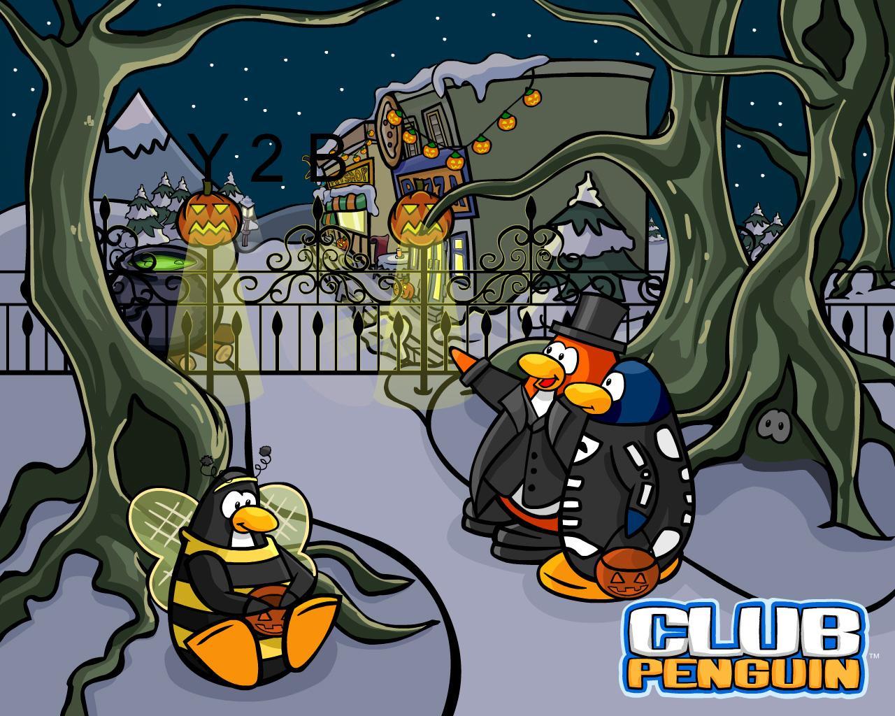 Club Penguin Halloween Club Penguin Cheats 1280x1024