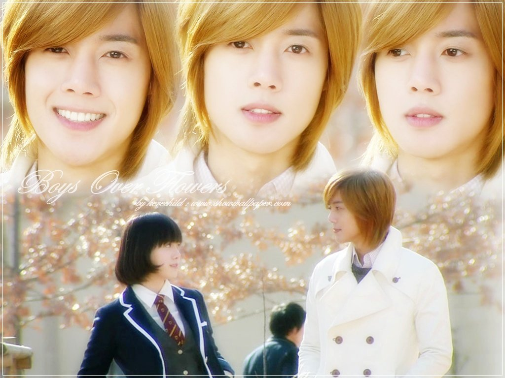 Download Wallpaper Boys Over Flowers F4 1024x768