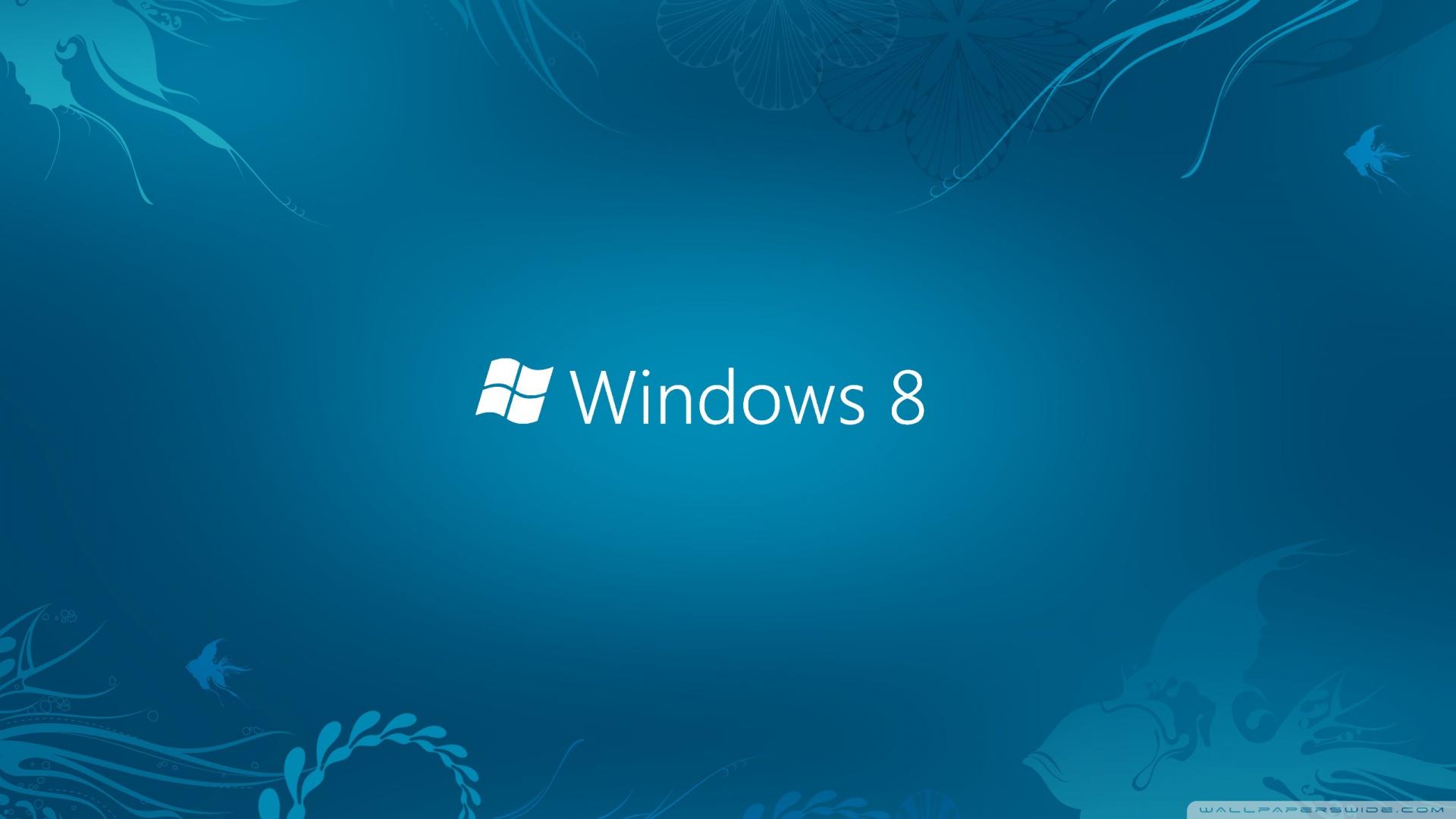 Windows 8 Blue 4K HD Desktop Wallpaper for 4K Ultra HD TV 1920x1080