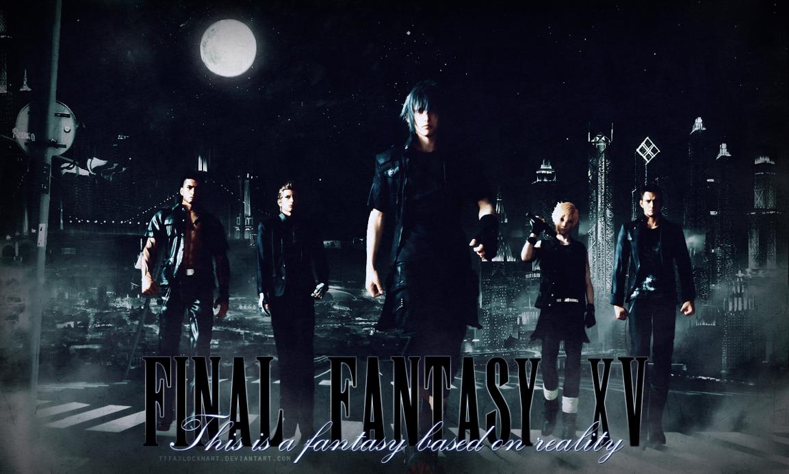 Final Fantasy Xv Logo Uhd 4k Wallpaper: Final Fantasy XV Wallpaper