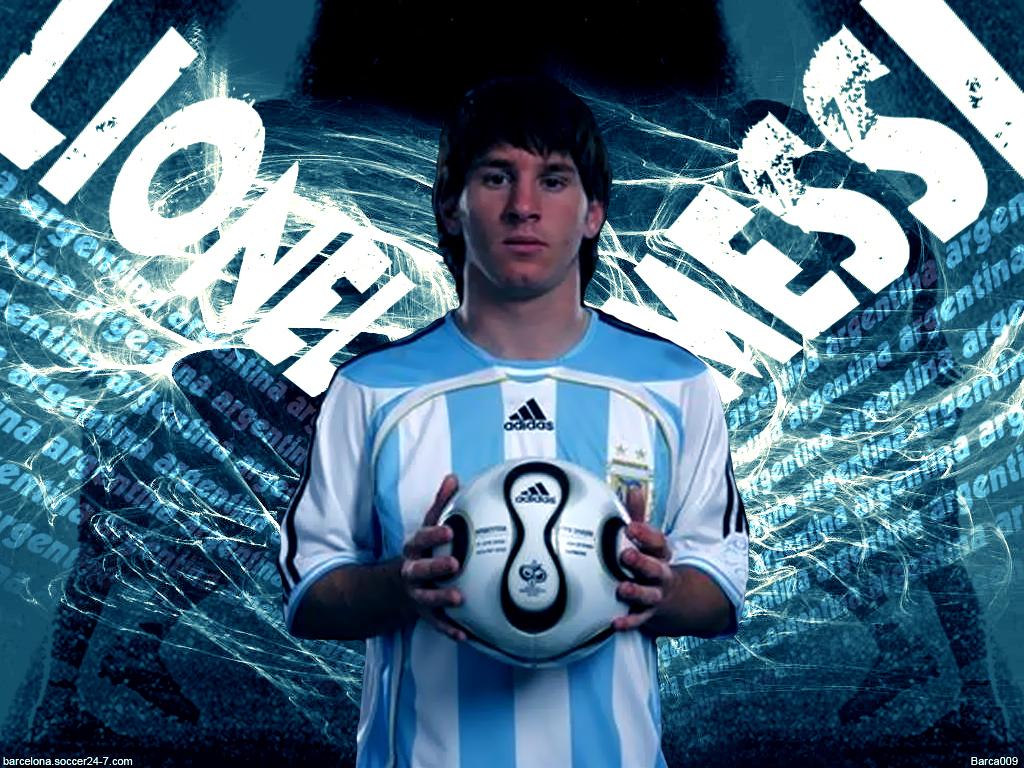 Wallpaper Keren Lionel Messi   Gambar Foto Wallpaper 1024x768