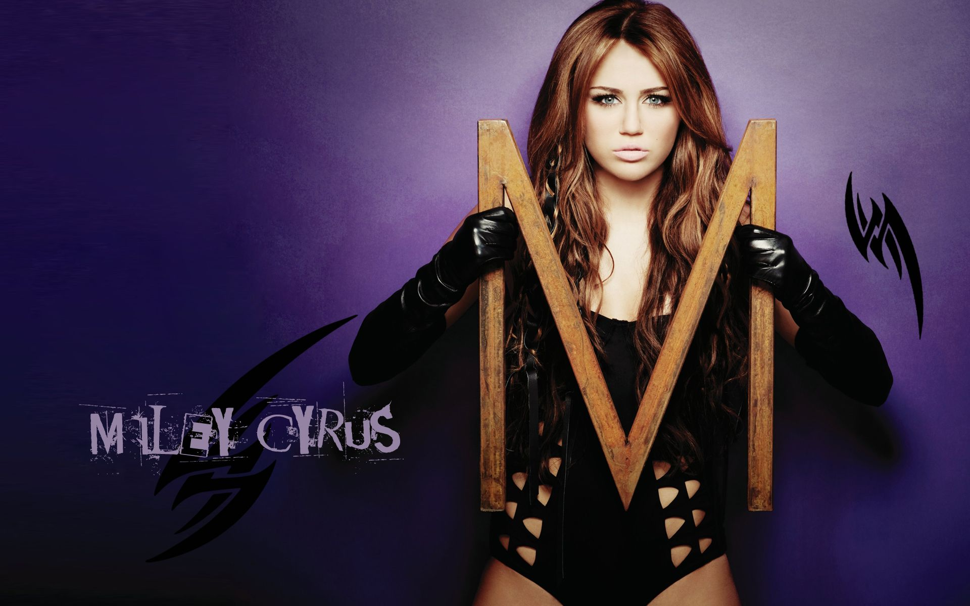 Miley Cyrus hot and sexy Wallpaper Miley Cyrus American Atress 1920x1200