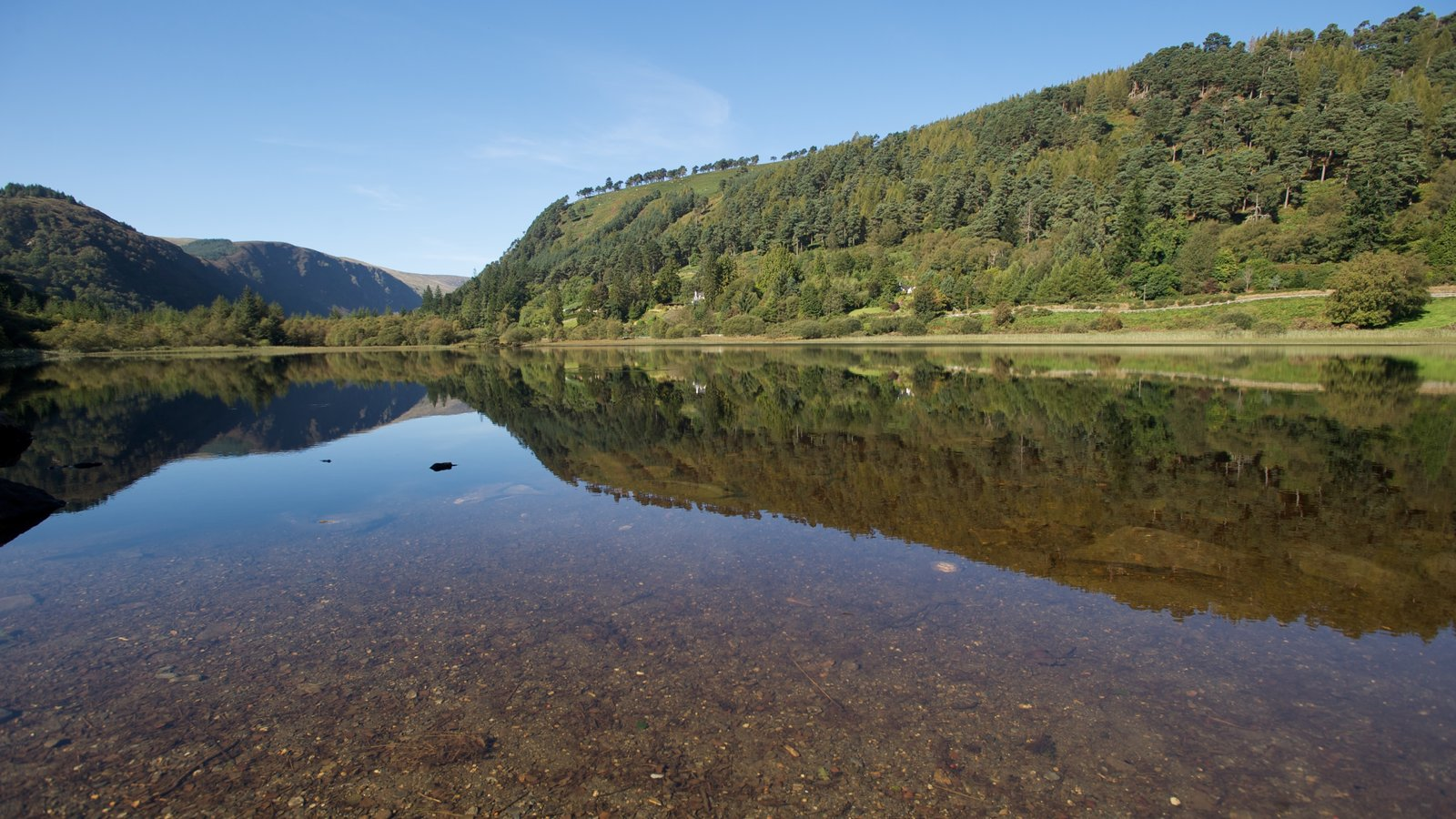 Nature pictures View images of Glendalough 1600x900